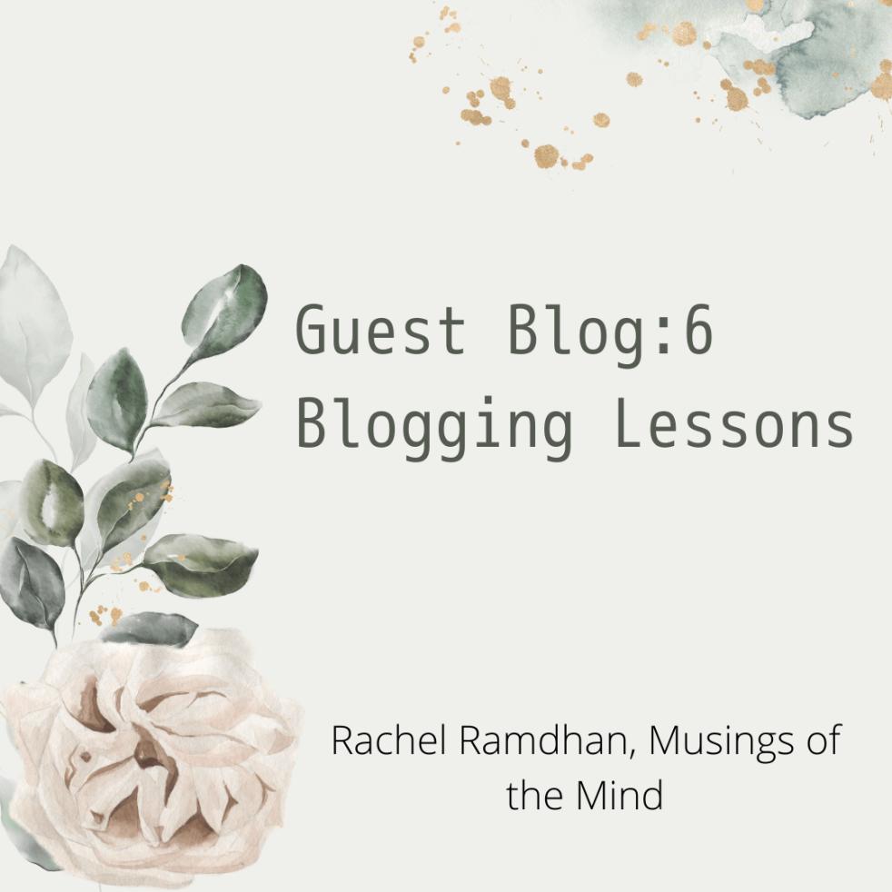 6blogginglessons, blogging lessons, 6 lessons, staceylblogs.com